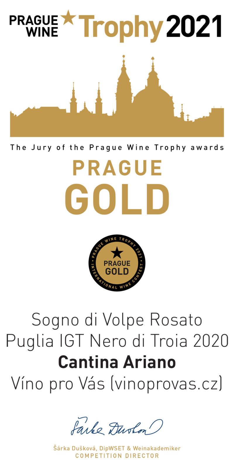 Prague Wine Trophy 2021
