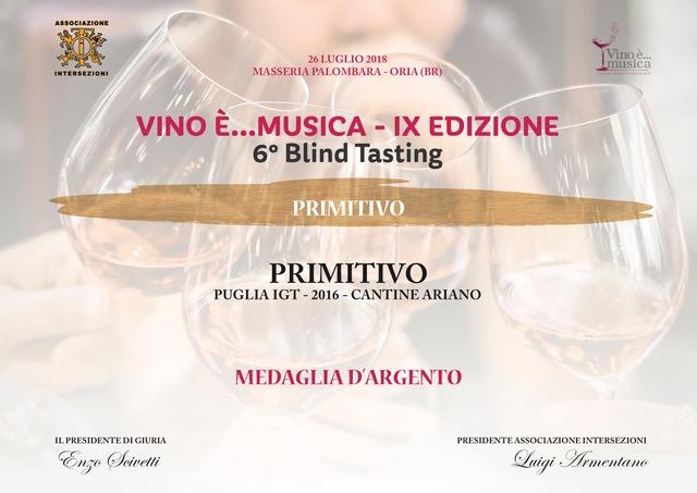 Vino è...musica - IX edizione - 6° Blind Tasting