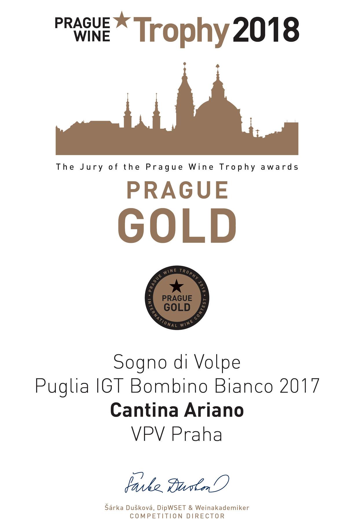 Prague Wine Trophy 2017